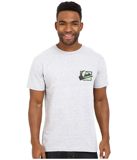 Imbracaminte Barbati Quiksilver Mountaion Wave Spray Tees Athletic Heather