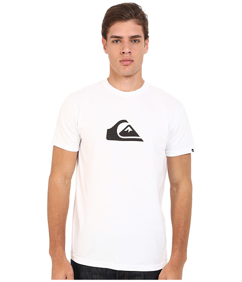 Imbracaminte Barbati Quiksilver Everyday Mountain Wave Tee White