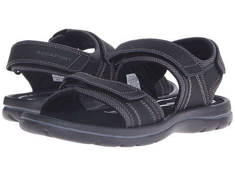 Incaltaminte Barbati Rockport Get Your Kicks Sandals QTR Strap Black