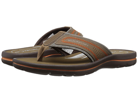 Incaltaminte Barbati Rockport Get Your Kicks Sandals Thong TanSand