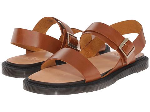 Incaltaminte Barbati Dr Martens Kennet 3-Strap Sandal Oak Analine