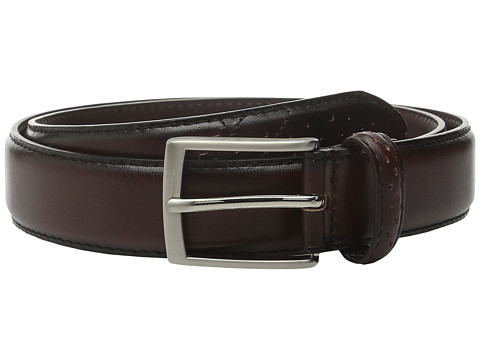 Accesorii Barbati Stacy Adams 32mm Full Grain Leather Top w All Leather Lining Perforated Tip Brown