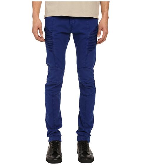 Imbracaminte Barbati Pierre Balmain Biker Jeans Royal Blue