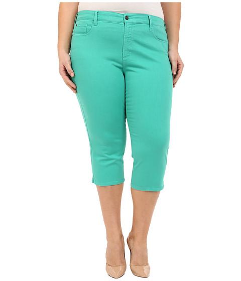 Imbracaminte Femei NYDJ Plus Size Ariel Crop in Jade Mint Jade Mint