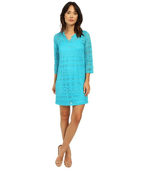 Imbracaminte Femei Christin Michaels Ocean Breeze Lace Dress Malibu Blue