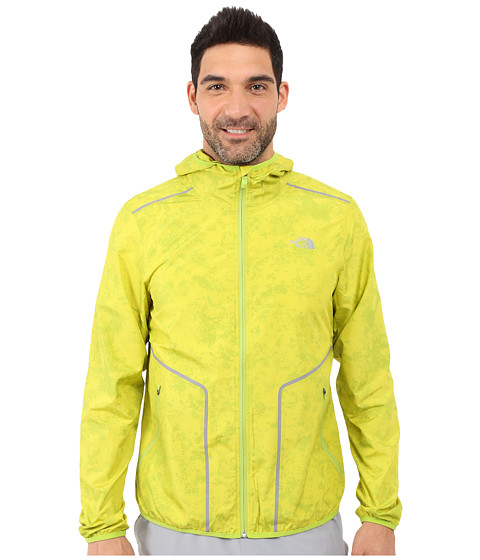Imbracaminte Barbati The North Face Ampere Wind Trainer Macaw Green