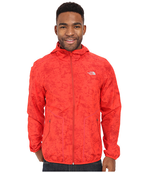 Imbracaminte Barbati The North Face Ampere Wind Trainer Fiery Red