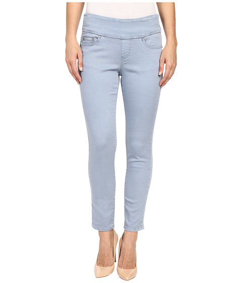 Imbracaminte Femei Jag Jeans Amelia Ankle Pigment Dyed Knit Denim in Blue Wonder Blue Wonder