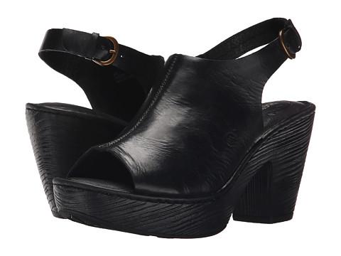 Incaltaminte Femei Born Fatema Black Full Grain Leather