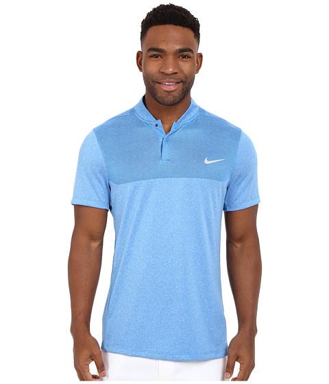 Imbracaminte Barbati Nike Golf Momentum Flex Knit Polo Photo BlueReflective Silver