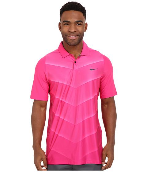 Imbracaminte Barbati Nike Tiger Woods Velocity Hypercool Fade Vivid PinkHyper PinkBlackReflect Black