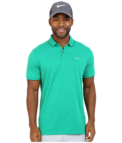 Imbracaminte Barbati Nike Transition Washed Polo Lucid GreenAnthraciteAnthraciteFlt Silver