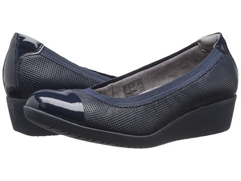Incaltaminte Femei Clarks Petula Sadie Navy Leather