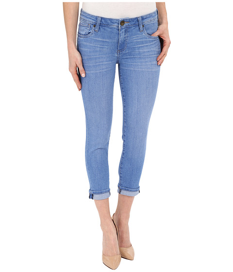 Imbracaminte Femei KUT from the Kloth Catherine Slim Boyfriend Jeans in Resilient w Medium Base Wash ResilientMedium Base Wash