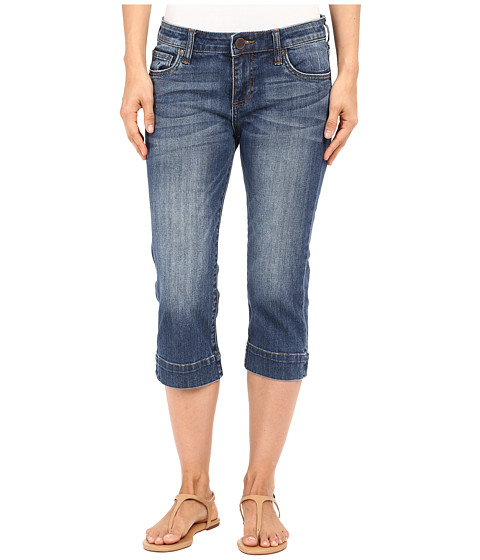 Imbracaminte Femei KUT from the Kloth Natalie Basic Five-Pocket Crop Jeans in Special w Medium Base Wash SpecialMedium Base Wash