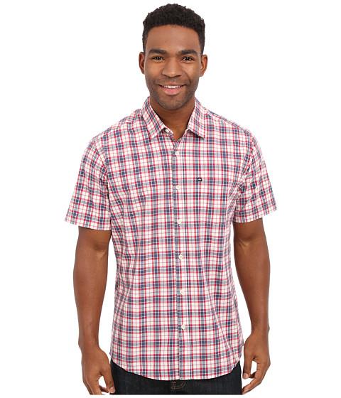 Imbracaminte Barbati Quiksilver Everyday Check Short Sleeve Woven Top Dark Denim