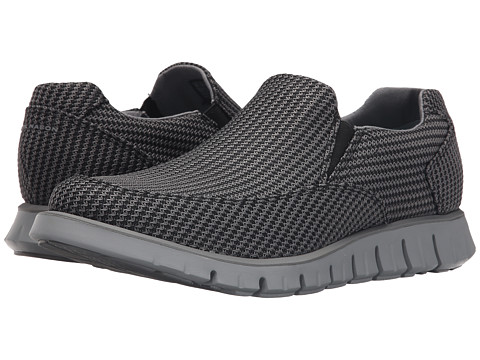 Incaltaminte Barbati SKECHERS Wickham Black FreyMeshCharcoal PinGrey Bottom