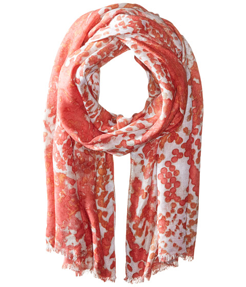 Accesorii Femei Michael Stars Dotted Python Scarf Sea Lily