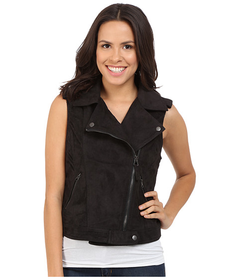 Imbracaminte Femei Brigitte Bailey Adia Motorcycle Vest Black