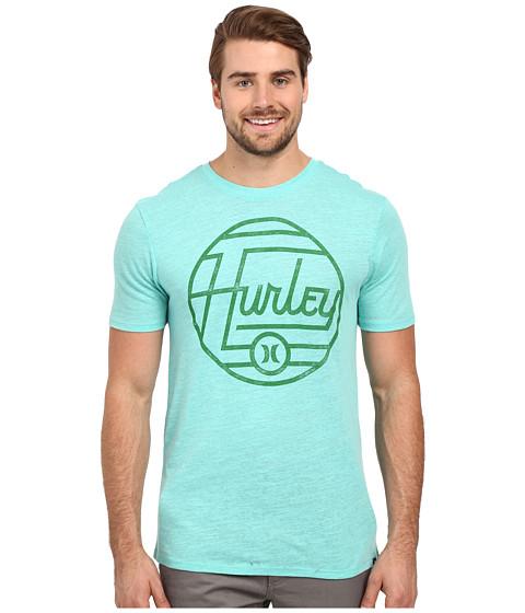 Imbracaminte Barbati Hurley Wavelength Tri-Blend Tee Bermuda Green