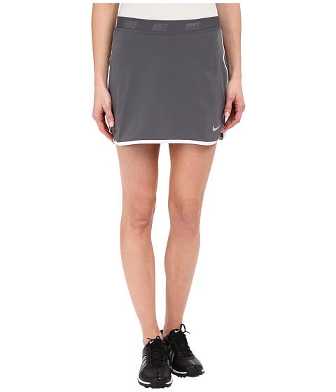Imbracaminte Femei Nike Golf Fringe Flip Skort Dark GreyMetallic Silver