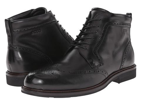 Incaltaminte Barbati ECCO Findlay Wing Tip Boot Black