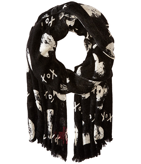 Accesorii Femei Betsey Johnson Cross My Heart Wrap Black