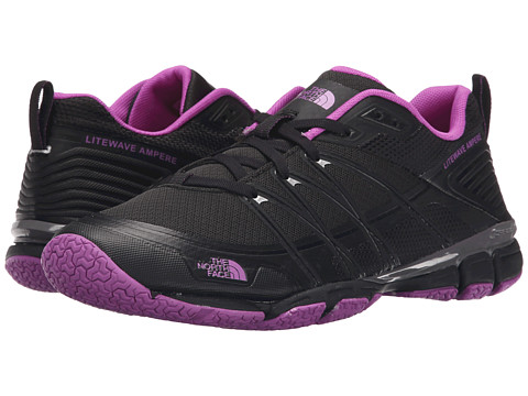 Incaltaminte Femei The North Face Litewave Ampere TNF BlackSweet Violet (Prior Season)