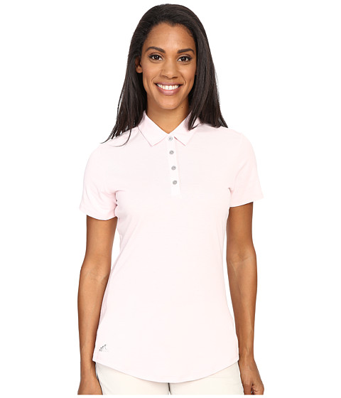 Imbracaminte Femei adidas Golf Essentials Heather Short Sleeve Polo Blushing Pink