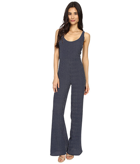 Imbracaminte Femei Brigitte Bailey Julie Striped Jumpsuit NavyWhite Stripe