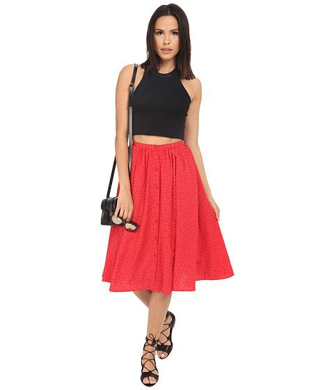 Imbracaminte Femei BB Dakota Raquel Fluff Printed Button Front Skirt Glow