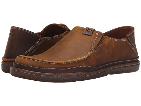 Incaltaminte Barbati Clarks Trapell Form Tan Leather