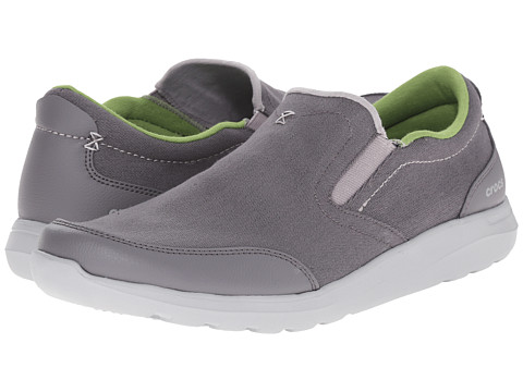Incaltaminte Barbati Crocs Kinsale Slip-On CharcoalLight Grey