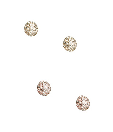 Bijuterii Femei GUESS Rose Gold-Tone Front-Back Earrings rose gold