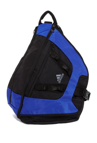Genti Femei adidas Capital II Sling Backpack MED BLUE