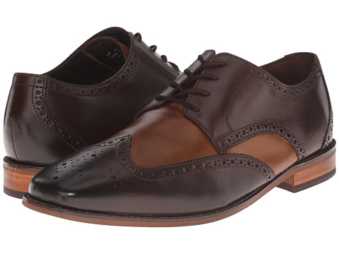 Incaltaminte Barbati Florsheim Castellano Wingtip Oxford BrownSaddle Tan Smooth