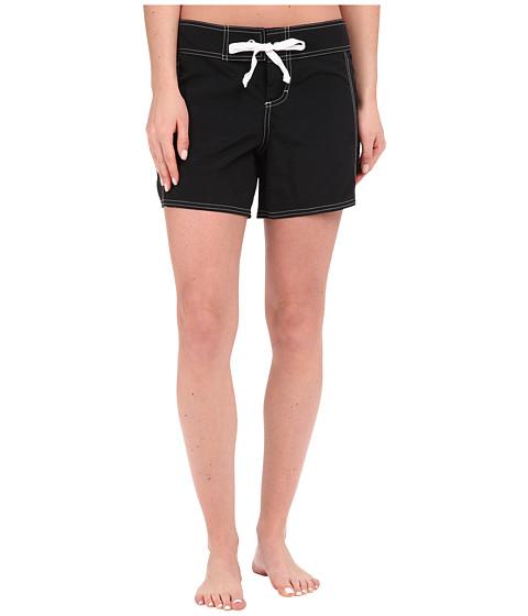 Imbracaminte Femei Tommy Bahama Solid 5quot Boardshorts Black