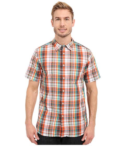 Imbracaminte Barbati The North Face Short Sleeve Solar Plaid Shirt Mid GreyAsphalt Grey Plaid (Prior Season)