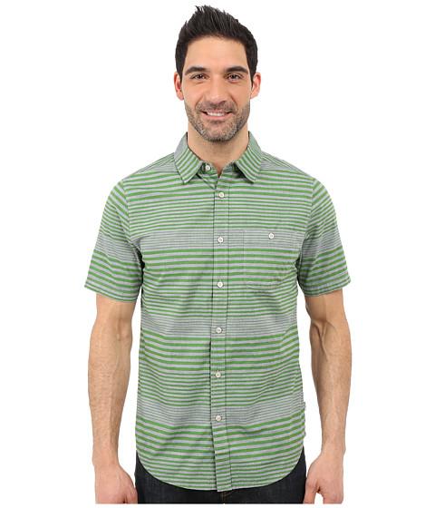 Imbracaminte Barbati The North Face Short Sleeve Engine Stripe Shirt Vibrant Green