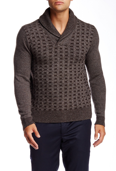 Imbracaminte Barbati Quinn Blasnik Cashmere Sweater Dusty Brown-Chocolate