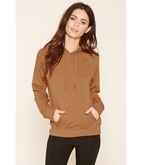Imbracaminte Femei Forever21 Classic Fleece Hoodie Brown