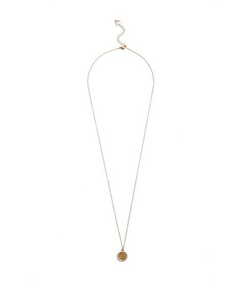 Bijuterii Femei GUESS Gold-Tone Pendant Necklace gold