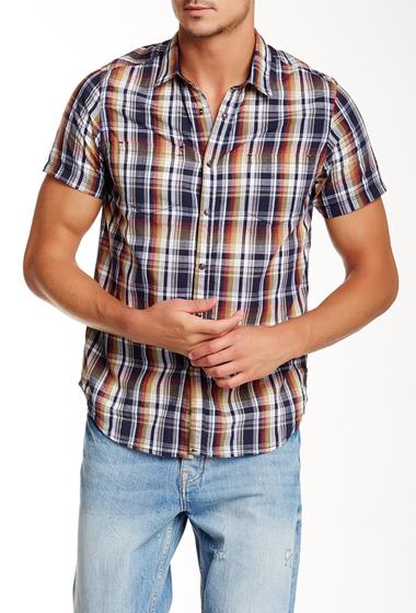 Imbracaminte Barbati Howe Regular Fit Duckhorn Plaid Shirt NAVY BLAZE