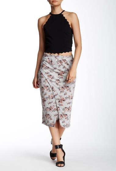 Imbracaminte Femei HIP Midi Wrap Skirt ST14211 H GREY-PEACH