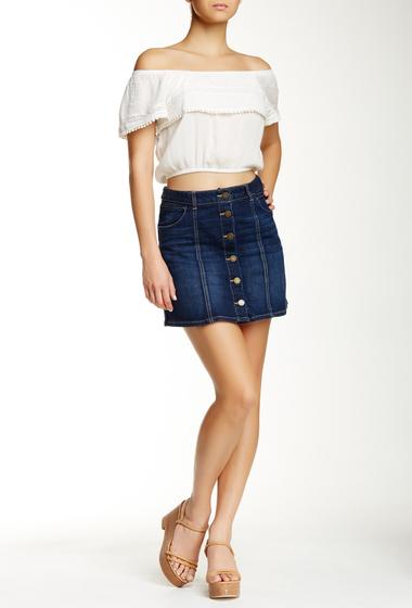 Imbracaminte Femei Jolt Seamed Denim Mini Skirt IN5
