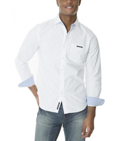 Imbracaminte Barbati US Polo Assn SLIM FIT LONG SLEEVE OXFORD Optic White