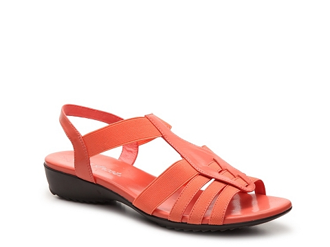 Incaltaminte Femei Easy Street Shane Gladiator Sandal Coral