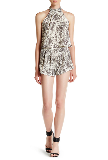 Imbracaminte Femei Abound Print Pull-On Short BLACK HAWIN FLR