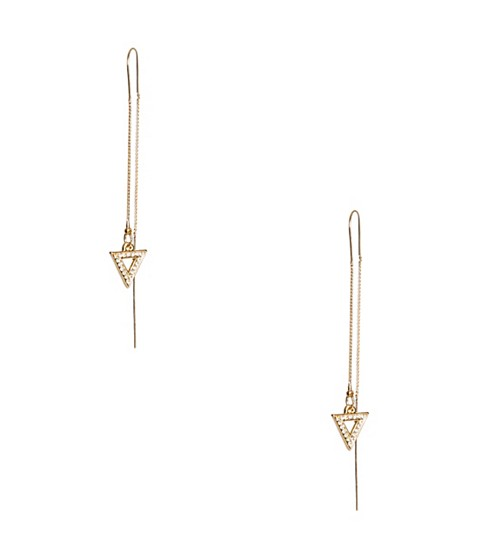 Bijuterii Femei GUESS Gold-Tone Threader Earrings gold