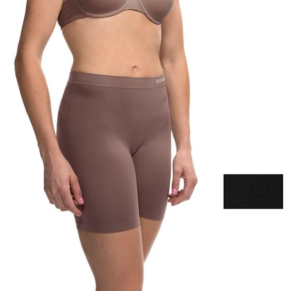 Imbracaminte Femei Ellen Tracy Seamless Control Slip Shorts - 2-Pack BLACKMOCHA (01)